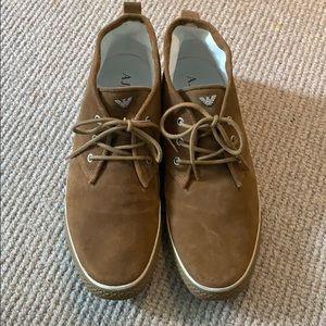 Armani Suede Boots